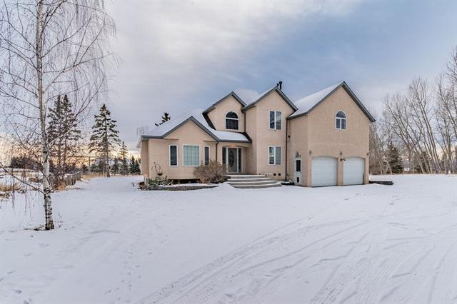 25273 Lower Springbank Road, Rural Rocky View County, AB T3Z 3K6 (#C4236336) :: Calgary Homefinders