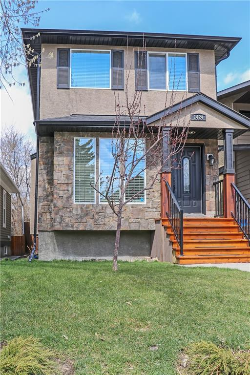 1424 21 Avenue NW, Calgary, AB T2M 1L7 (#C4243956) :: The Cliff Stevenson Group