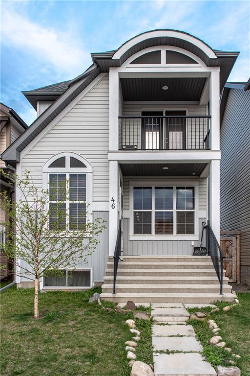 46 Auburn Crest Green SE, Calgary, AB T3M 0Z2 (#C4244886) :: Redline Real Estate Group Inc