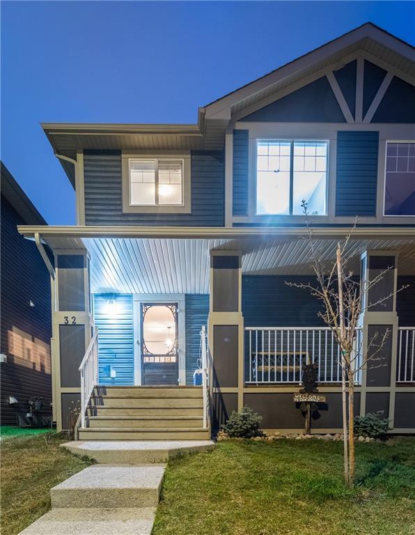 32 Fireside Bend, Cochrane, AB T4C 0V6 (#C4245518) :: Redline Real Estate Group Inc