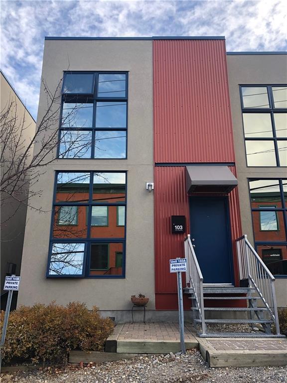 1212 13 Street SE #103, Calgary, AB T2G 5R3 (#C4257387) :: The Cliff Stevenson Group