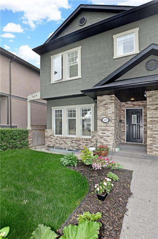 429 10 Avenue NE #1, Calgary, AB T2E 0X5 (#C4258006) :: Redline Real Estate Group Inc