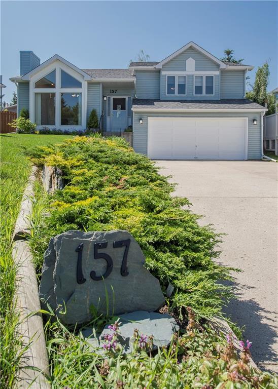 157 Straddock Terrace SW, Calgary, AB T3H 2T5 (#C4262919) :: The Cliff Stevenson Group