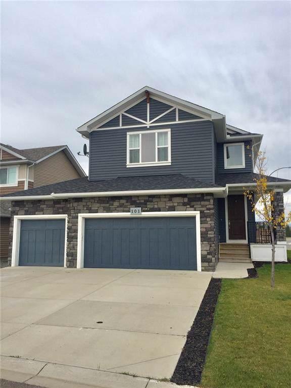 101 Riverwood Way, Black Diamond, AB T0L 0H0 (#C4269878) :: Redline Real Estate Group Inc