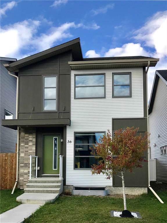 36 Copperpond Avenue SE, Calgary, AB T2Z 5B3 (#C4272260) :: Redline Real Estate Group Inc
