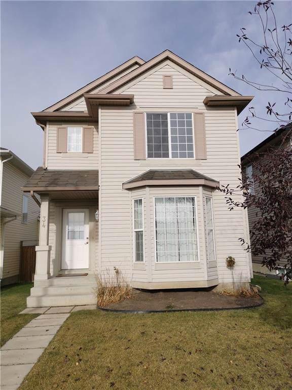 34 Evansmeade Close NW, Calgary, AB T3P 1C2 (#C4272912) :: Redline Real Estate Group Inc