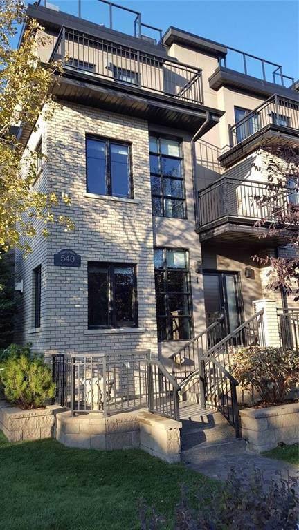 540 21 Avenue SW #1, Calgary, AB T2S 0H1 (#C4273050) :: Redline Real Estate Group Inc