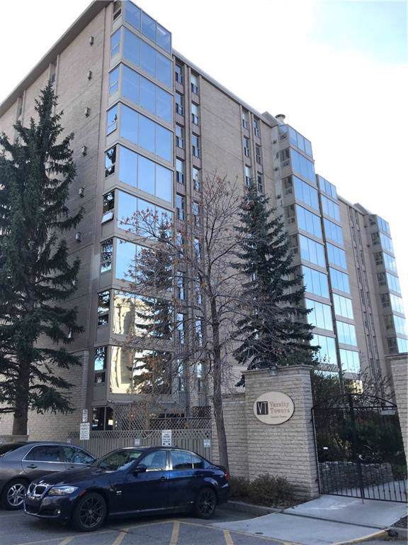 4555 Varsity Lane NW #305, Calgary, AB T3A 2V6 (#C4273516) :: Virtu Real Estate