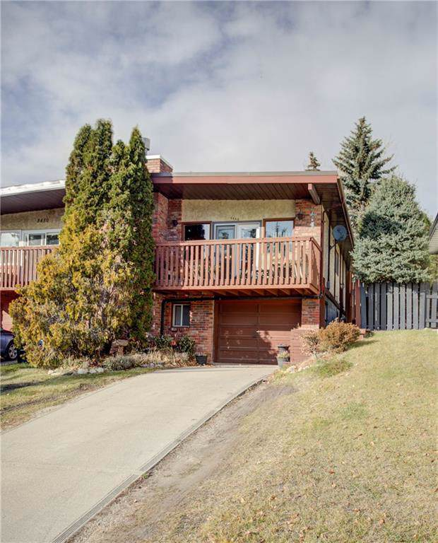 8448 Silver Springs Road NW, Calgary, AB T3B 4J6 (#C4273577) :: Canmore & Banff