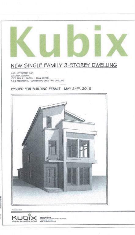 1429 & 1431 2 Street NW, Calgary, AB T2M 2W2 (#C4274928) :: Virtu Real Estate
