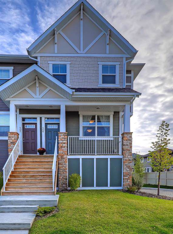 1225 Kings Heights Way SE #506, Airdrie, AB T4A 0T7 (#C4275245) :: The Cliff Stevenson Group