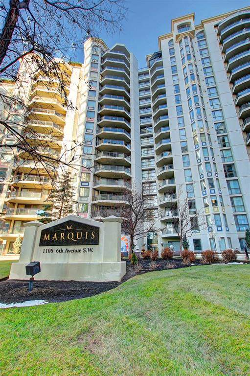 1108 6 Avenue SW #1408, Calgary, AB T2P 5K1 (#C4275956) :: Virtu Real Estate