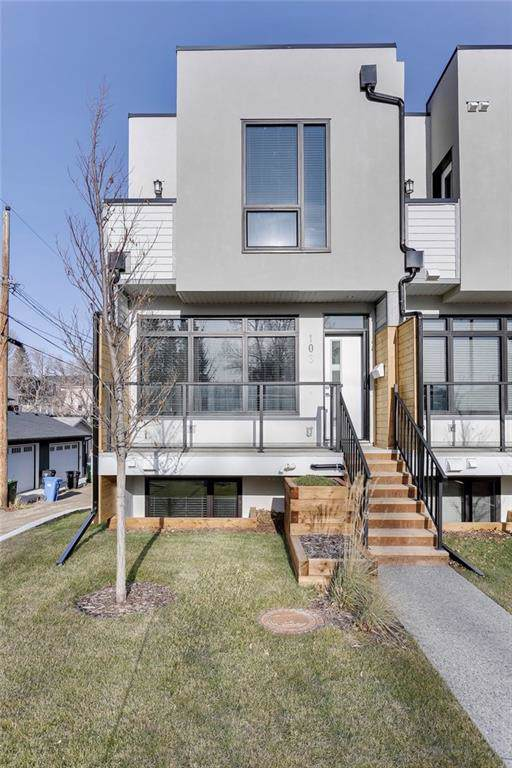1616 24 Avenue NW #106, Calgary, AB T2M 1Y6 (#C4277728) :: The Cliff Stevenson Group