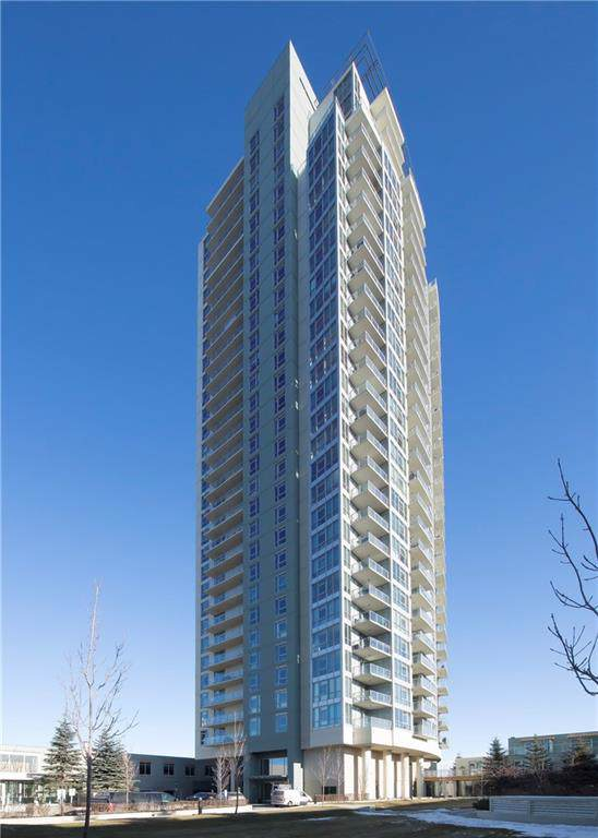 99 Spruce Place SW #2507, Calgary, AB T3C 3X7 (#C4279990) :: Canmore & Banff
