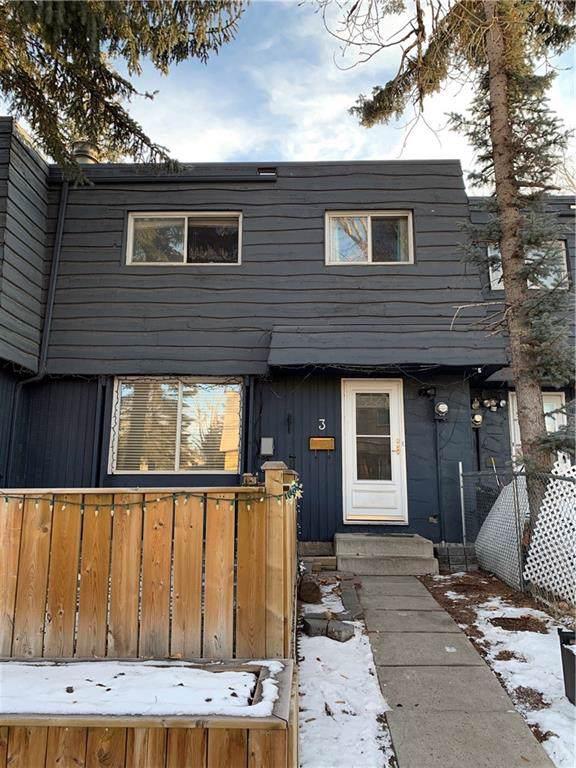 6404 4A Street NE #3, Calgary, AB T2K 5M9 (#C4280726) :: Redline Real Estate Group Inc