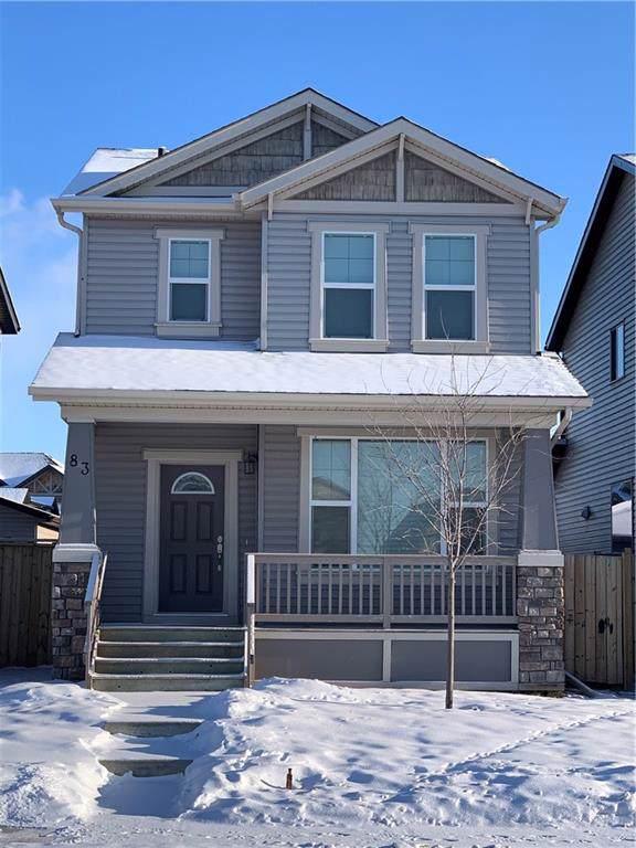 83 Skyview Springs Garden(S) NE, Calgary, AB T3N 0B3 (#C4281701) :: Redline Real Estate Group Inc