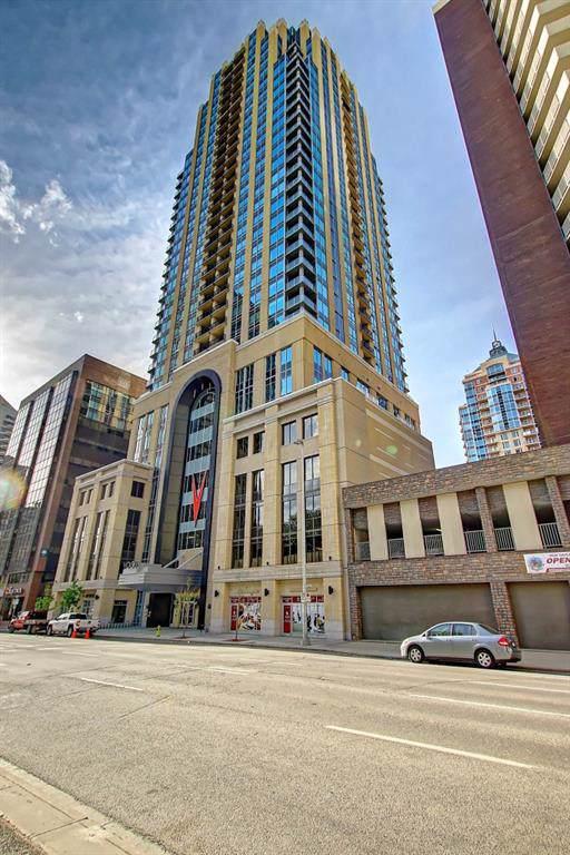 930 6 Avenue SW #1606, Calgary, AB T2P 1J3 (#C4282289) :: Redline Real Estate Group Inc