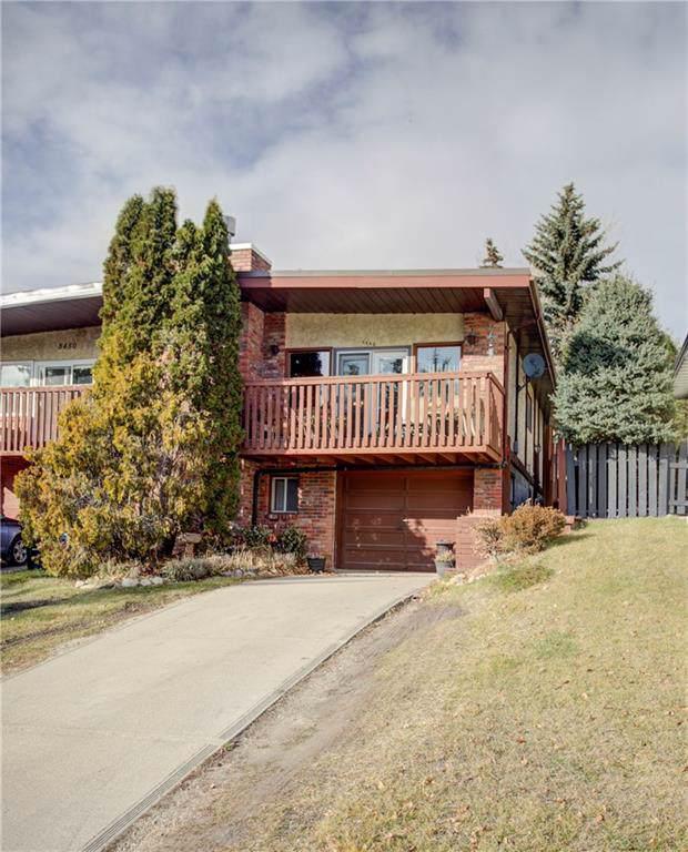 8448 Silver Springs Road NW, Calgary, AB T3B 4J6 (#C4282932) :: Calgary Homefinders