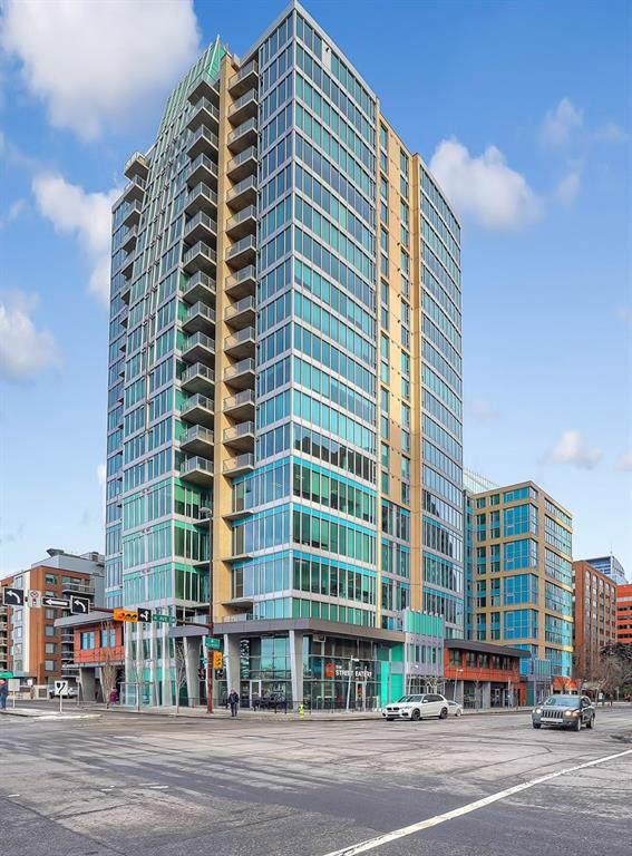 888 4 Avenue SW #1606, Calgary, AB T2P 0V2 (#C4283225) :: The Cliff Stevenson Group