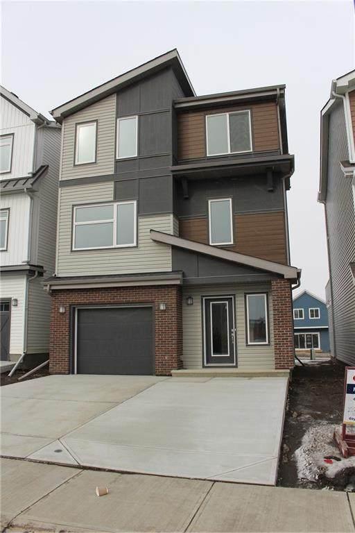 228 Lucas Manor NW, Calgary, AB T3P 1H9 (#C4288988) :: The Cliff Stevenson Group