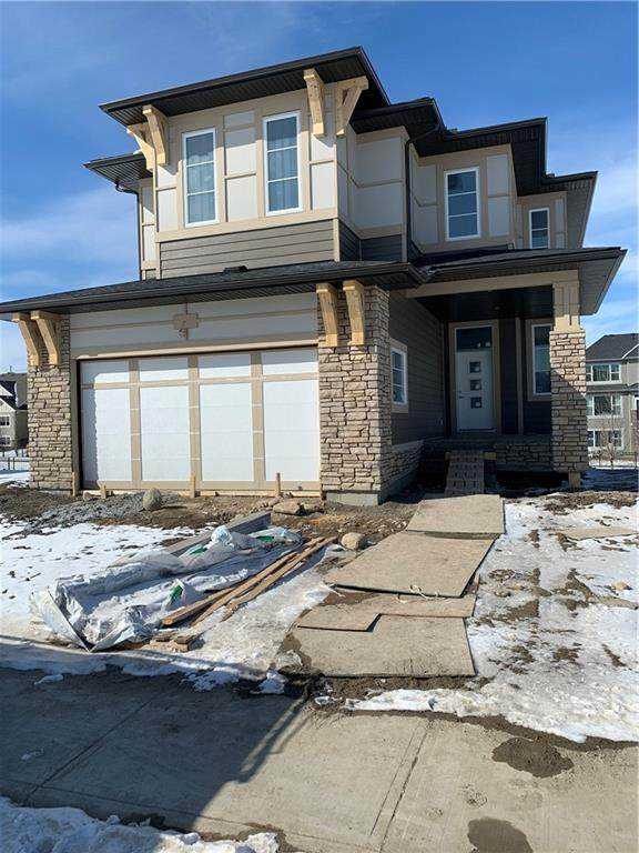 222 Coopers Cove SW, Airdrie, AB T4B 3Y5 (#C4290301) :: The Cliff Stevenson Group