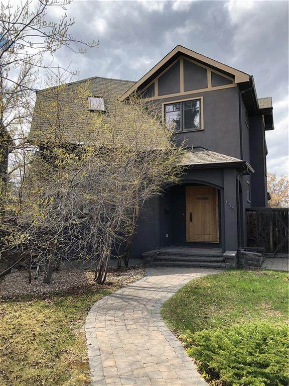 151 34A Street NW, Calgary, AB T2N 2Y4 (#C4297304) :: Canmore & Banff