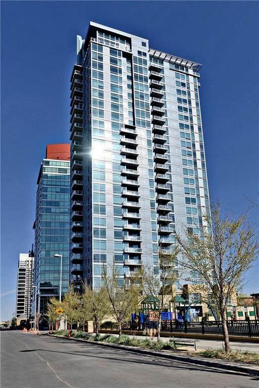 215 13 Avenue SW #2401, Calgary, AB T2R 0V6 (#C4299694) :: The Cliff Stevenson Group