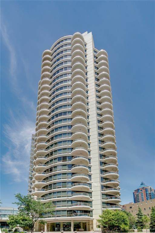 1078 6 Avenue SW #2501, Calgary, AB T2P 5N6 (#C4304935) :: Virtu Real Estate