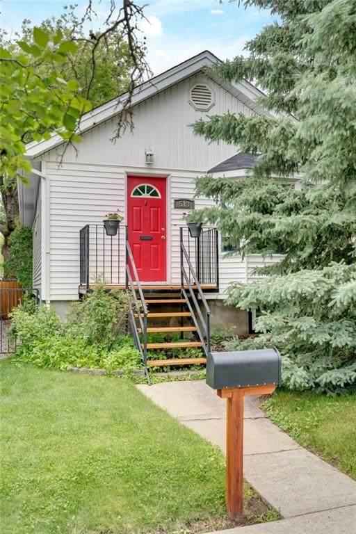 513 18 Avenue NW, Calgary, AB T2M 0T7 (#C4305213) :: Calgary Homefinders