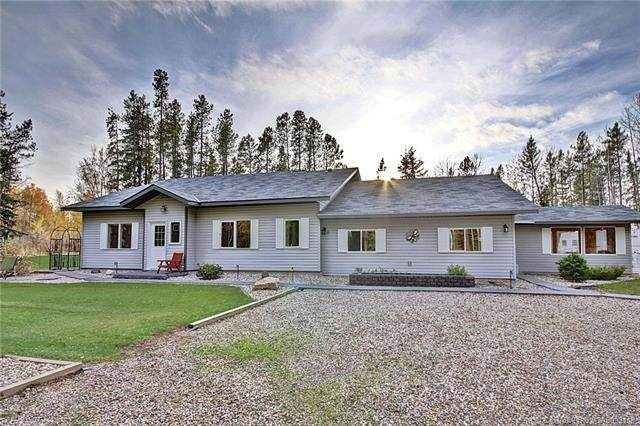 4 Pine Ridge Way, Rural Clearwater County, AB T4T 2A4 (#CA0093118) :: The Cliff Stevenson Group