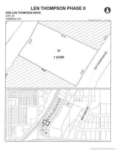 5364 Len Thompson Drive, Lacombe, AB T4L 2H3 (#CA0131975) :: Canmore & Banff