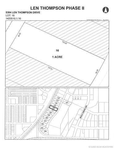 5384 Len Thompson Drive, Lacombe, AB T4L 2H3 (#CA0131980) :: Canmore & Banff