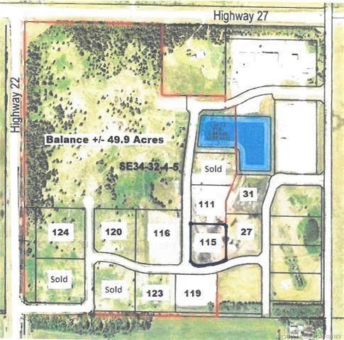 115-32532 Range Road 42, Rural Mountain View County, AB T0M 1X0 (#CA0183168) :: Calgary Homefinders