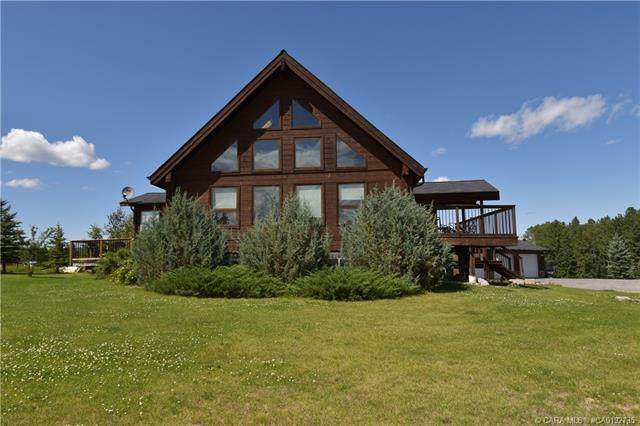 4 Tragondale Cove, Rural Clearwater County, AB T4T 1B4 (#CA0192735) :: Western Elite Real Estate Group
