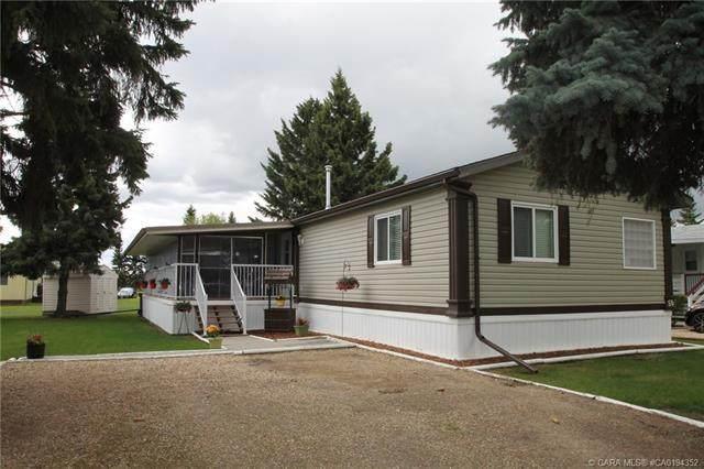 6205 54 Street #50, Ponoka, AB T4J 1M5 (#CA0194352) :: Canmore & Banff