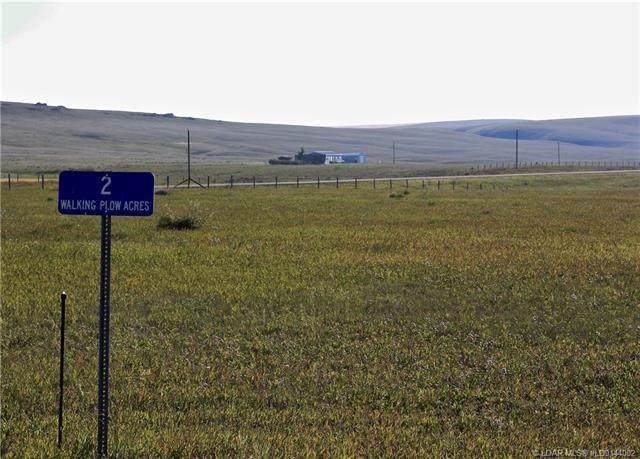 2 Walking Plow Estates, Rural Pincher Creek M.D., AB T0K 1W0 (#LD0144002) :: Calgary Homefinders