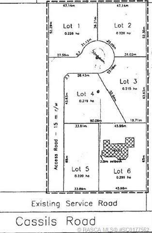 Lot 2 Cassils Road, Rural Newell County, AB T1R 1B3 (#SC0177562) :: Team J Realtors