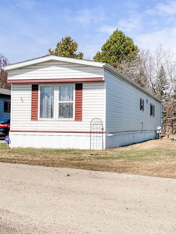 8060 100 Street #53, Grande Prairie, AB T8V 6H7 (#A1098792) :: Team Shillington | eXp Realty