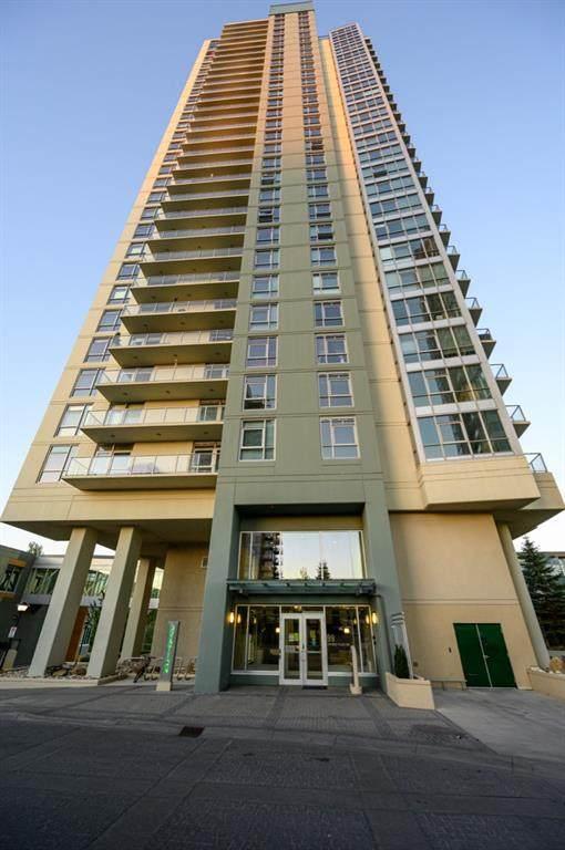 99 Spruce Place SW #2307, Calgary, AB T3C 3X7 (#A1121065) :: Calgary Homefinders