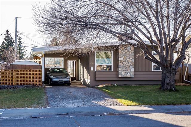 607 Meota Road NE, Calgary, AB T2E 5W8 (#C4091115) :: Canmore & Banff