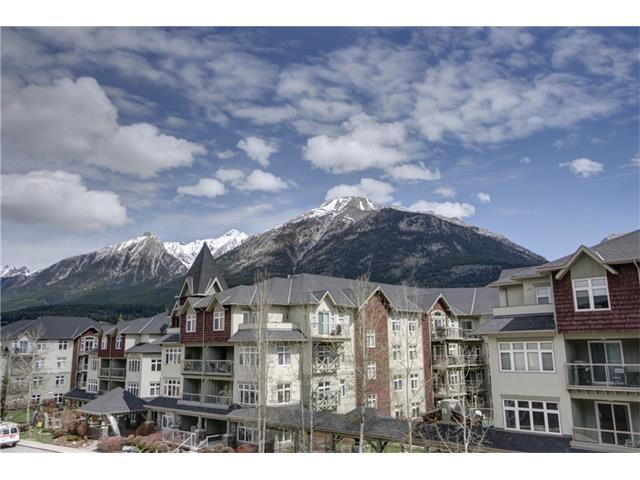 160 Kananaskis Way #407, Canmore, AB T1W 3E2 (#C4110204) :: Canmore & Banff