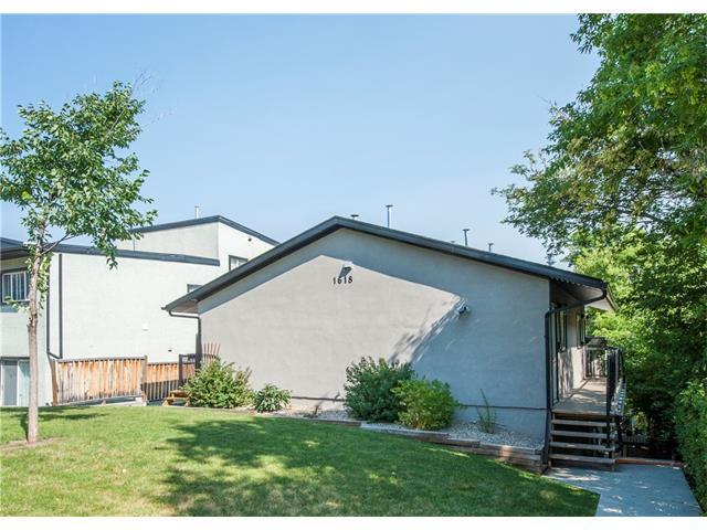 1618 28 Avenue SW #4, Calgary, AB T2J 1J4 (#C4129155) :: Redline Real Estate Group Inc