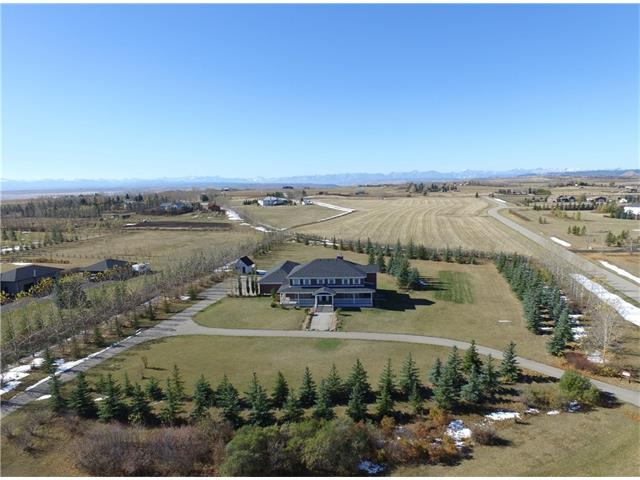 19 Diamond Ridge Estates, Rural Rocky View County, AB T4C 2B3 (#C4141093) :: Redline Real Estate Group Inc