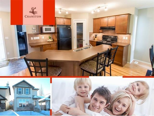 183 Cranberry Way SE, Calgary, AB T3M 1K3 (#C4142599) :: Your Calgary Real Estate