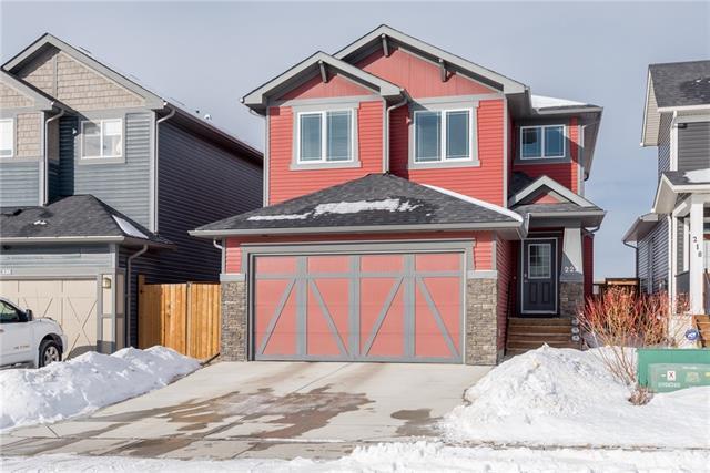 222 Fireside Place, Cochrane, AB T4C 0R6 (#C4161509) :: Redline Real Estate Group Inc