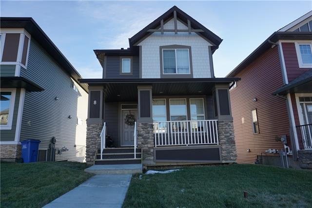 8 Heritage Boulevard, Cochrane, AB T4C 2M1 (#C4161620) :: Redline Real Estate Group Inc