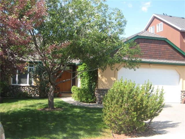 51 West Terrace Drive, Cochrane, AB T4C 1S2 (#C4161763) :: Redline Real Estate Group Inc
