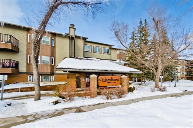 550 Westwood Drive SW #210, Calgary, AB T3C 3T9 (#C4163147) :: Redline Real Estate Group Inc
