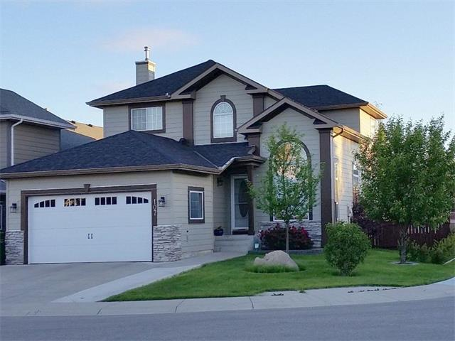 107 Thornbird Way SE, Airdrie, AB T4A 2E3 (#C4163516) :: Redline Real Estate Group Inc