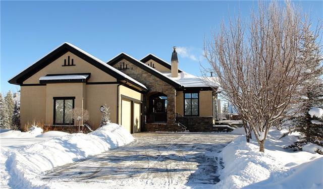 52 Golden Aspen Crest, Rural Rocky View County, AB T3Z 3E6 (#C4165413) :: The Cliff Stevenson Group